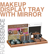 RADIESSENCEMakeup Display Tray with Mirror