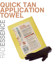 Quick Tan Microfibre Application Towel