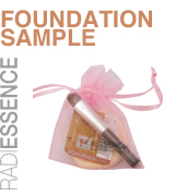 Pink Bag Foundation Sample