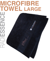Large Microfibre Towel (Black)