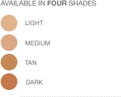 Invisible Finish Foundation Shades